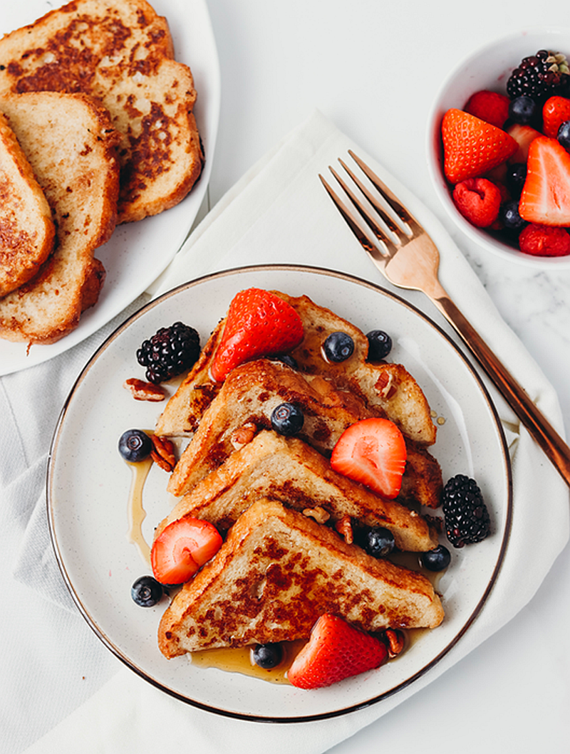 The Best Vegan French Toast